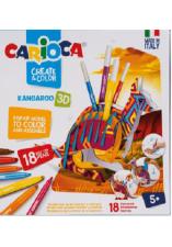 Create & color kangaroo 3D